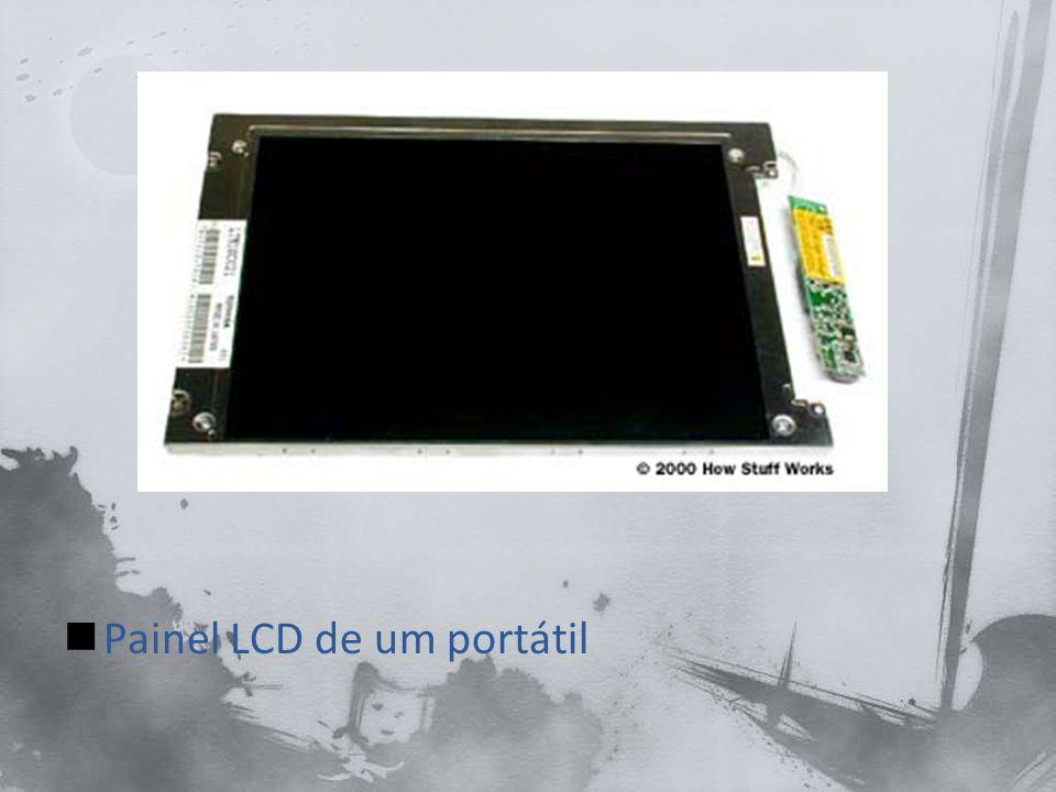 Painel LCD de um portátil