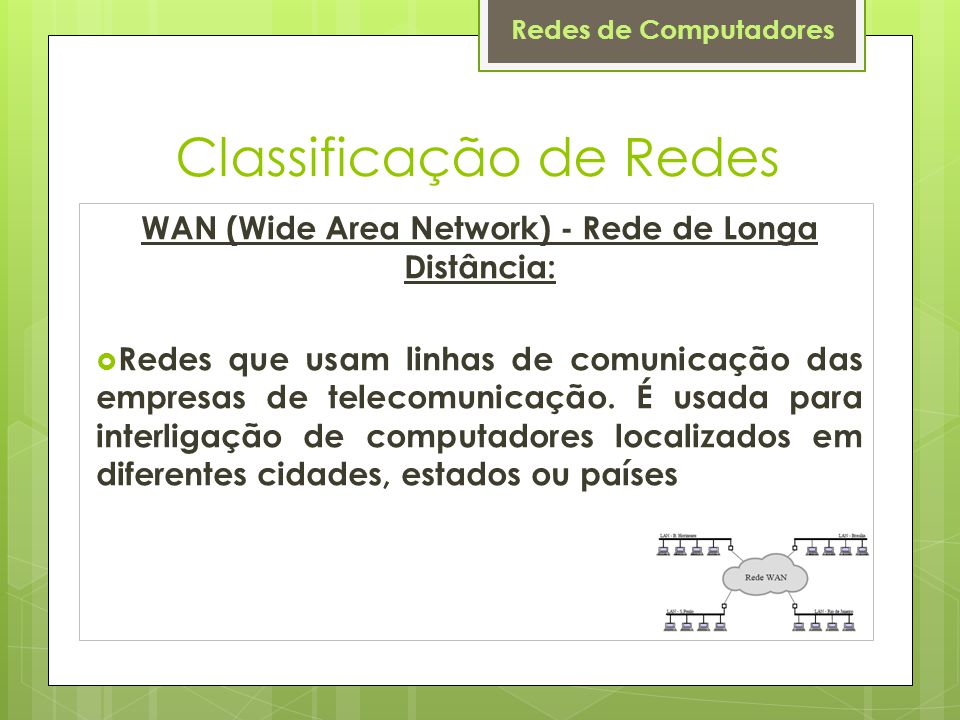 Classificação de Redes