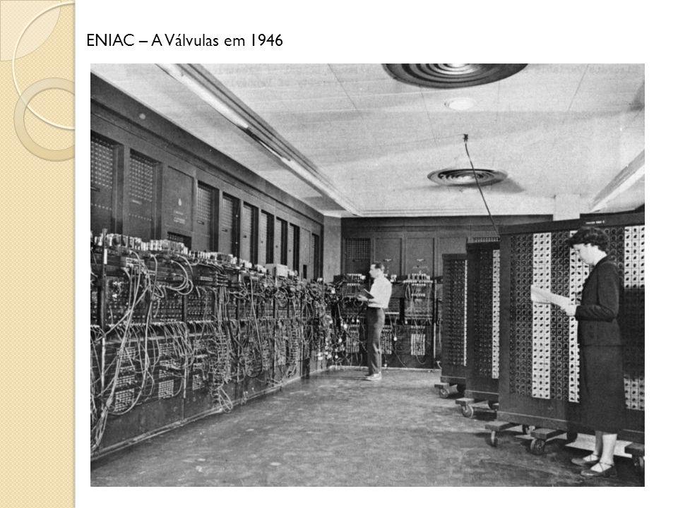 ENIAC – A Válvulas em 1946