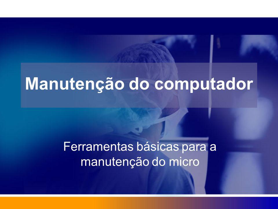 Manutenção do computador
