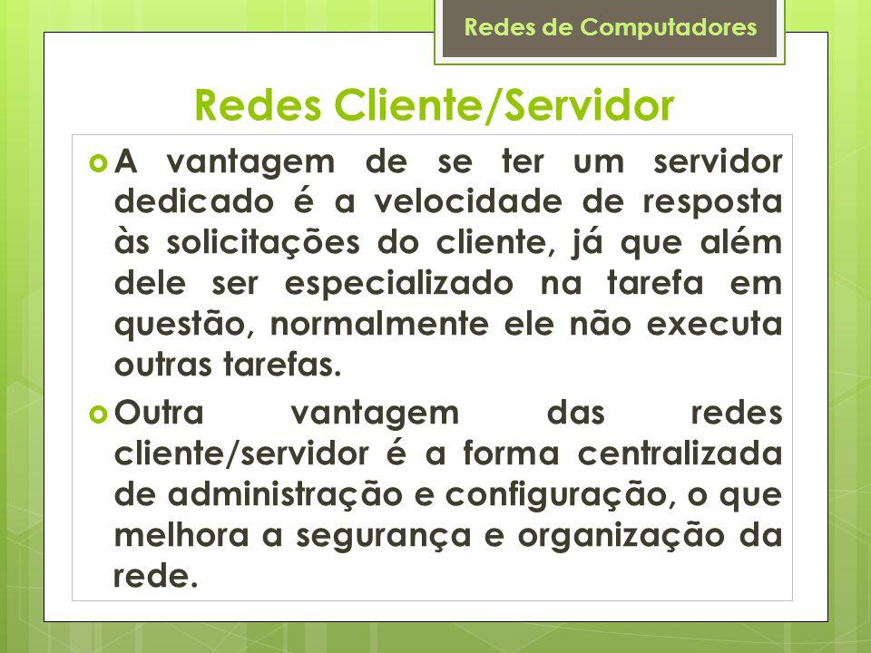 Redes Cliente/Servidor