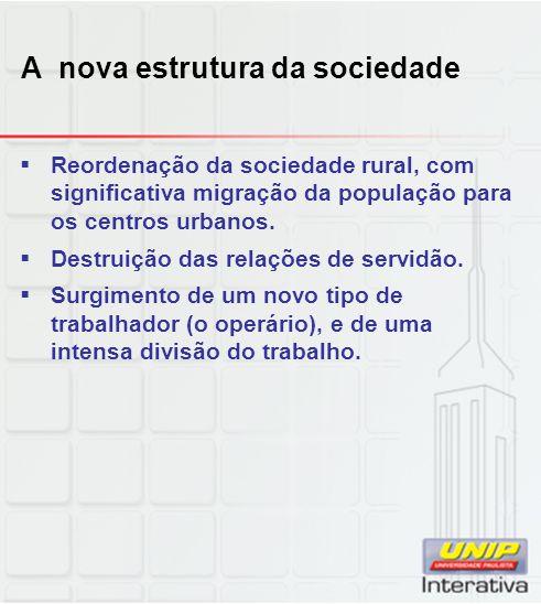 A nova estrutura da sociedade