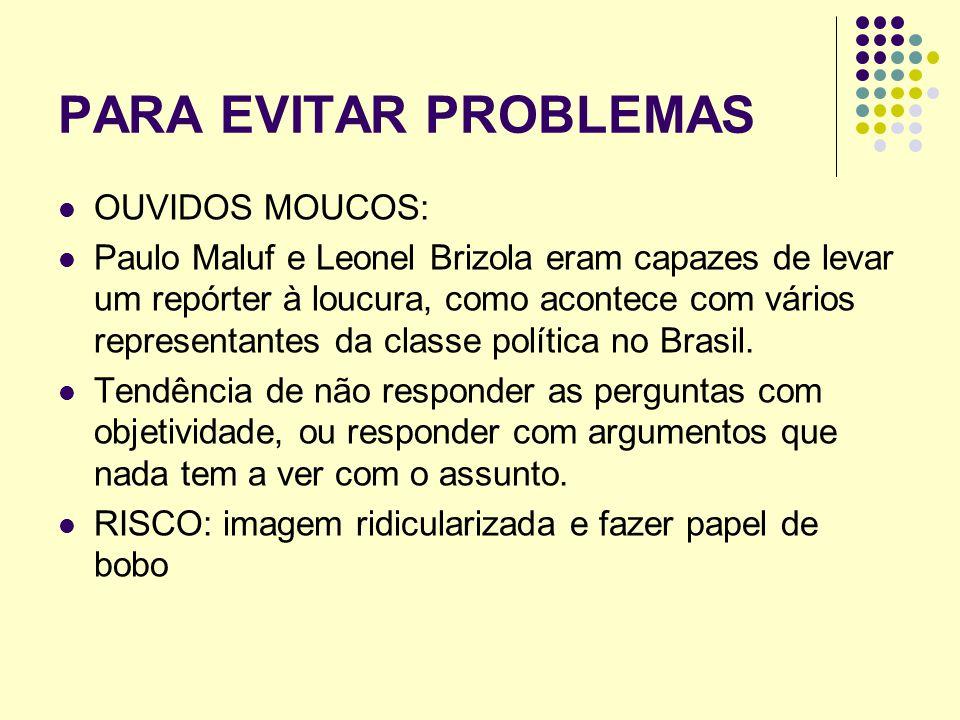 PARA EVITAR PROBLEMAS OUVIDOS MOUCOS: