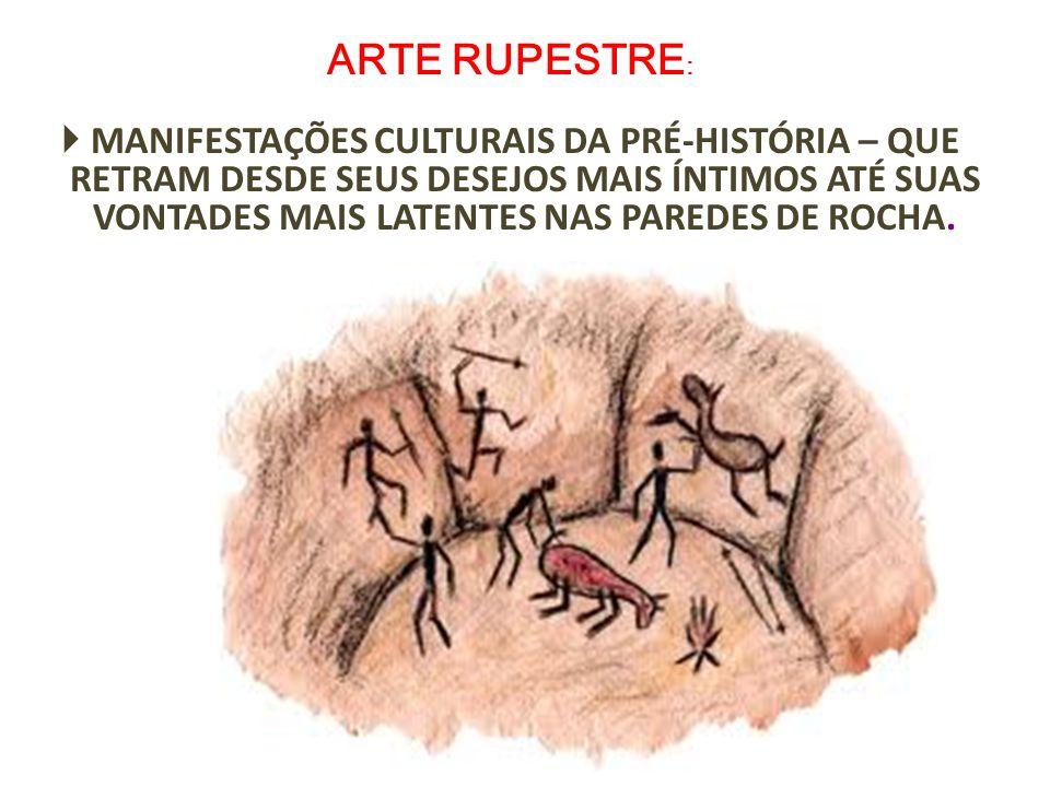 ARTE RUPESTRE: