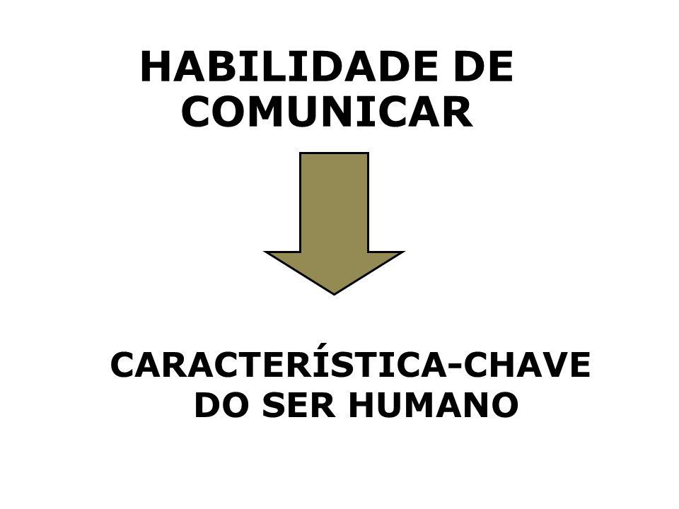 HABILIDADE DE COMUNICAR CARACTERÍSTICA-CHAVE