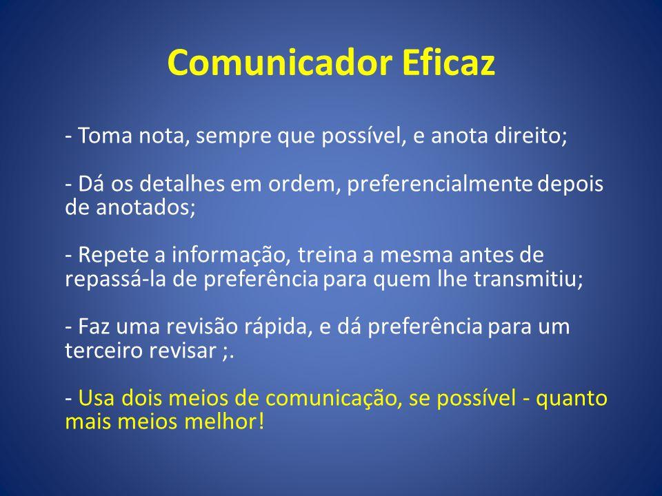 Comunicador Eficaz