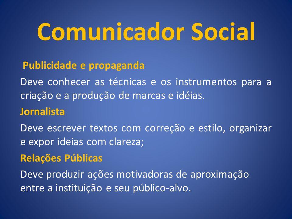 Comunicador Social