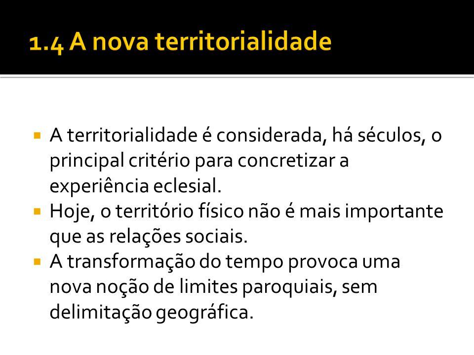 1.4 A nova territorialidade