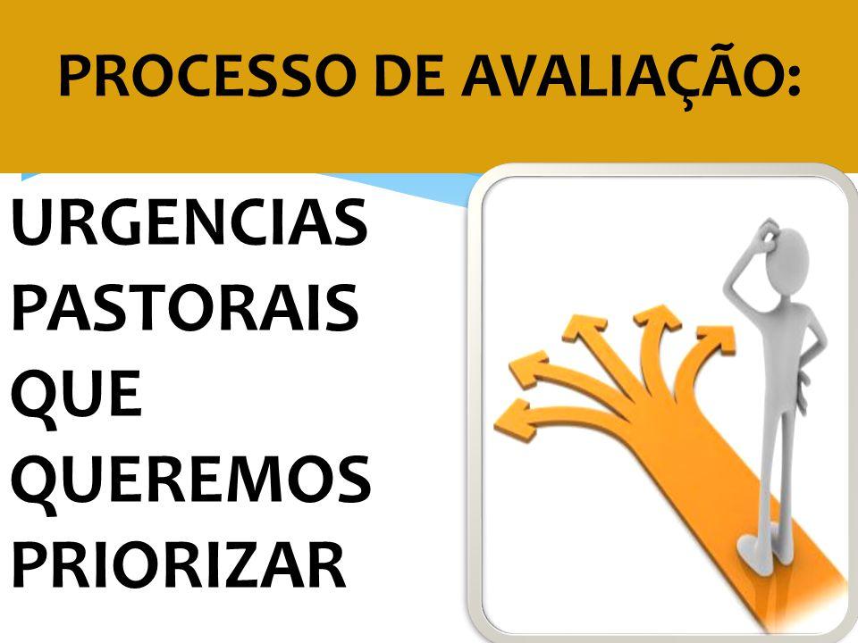 PROCESSO DE AVALIAÇÃO: