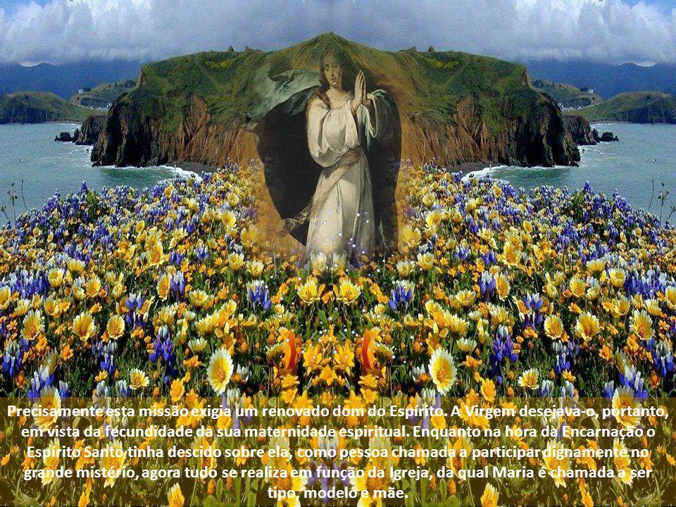 Precisamente esta missão exigia um renovado dom do Espírito
