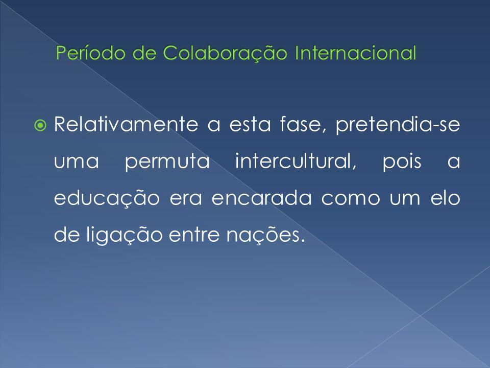 Período de Colaboração Internacional