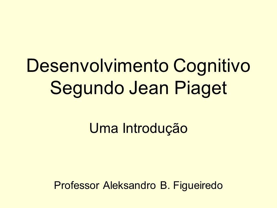 Desenvolvimento Cognitivo Segundo Jean Piaget