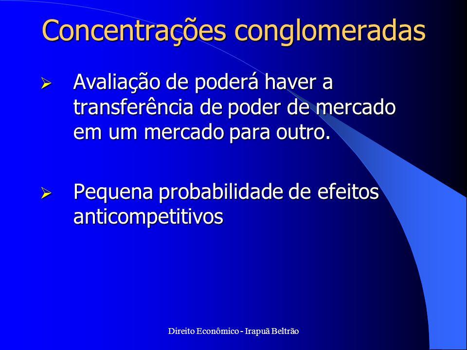 Concentrações conglomeradas