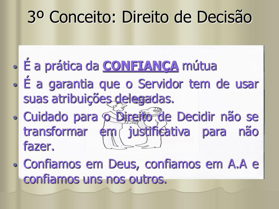 3º Conceito: Direito de Decisão