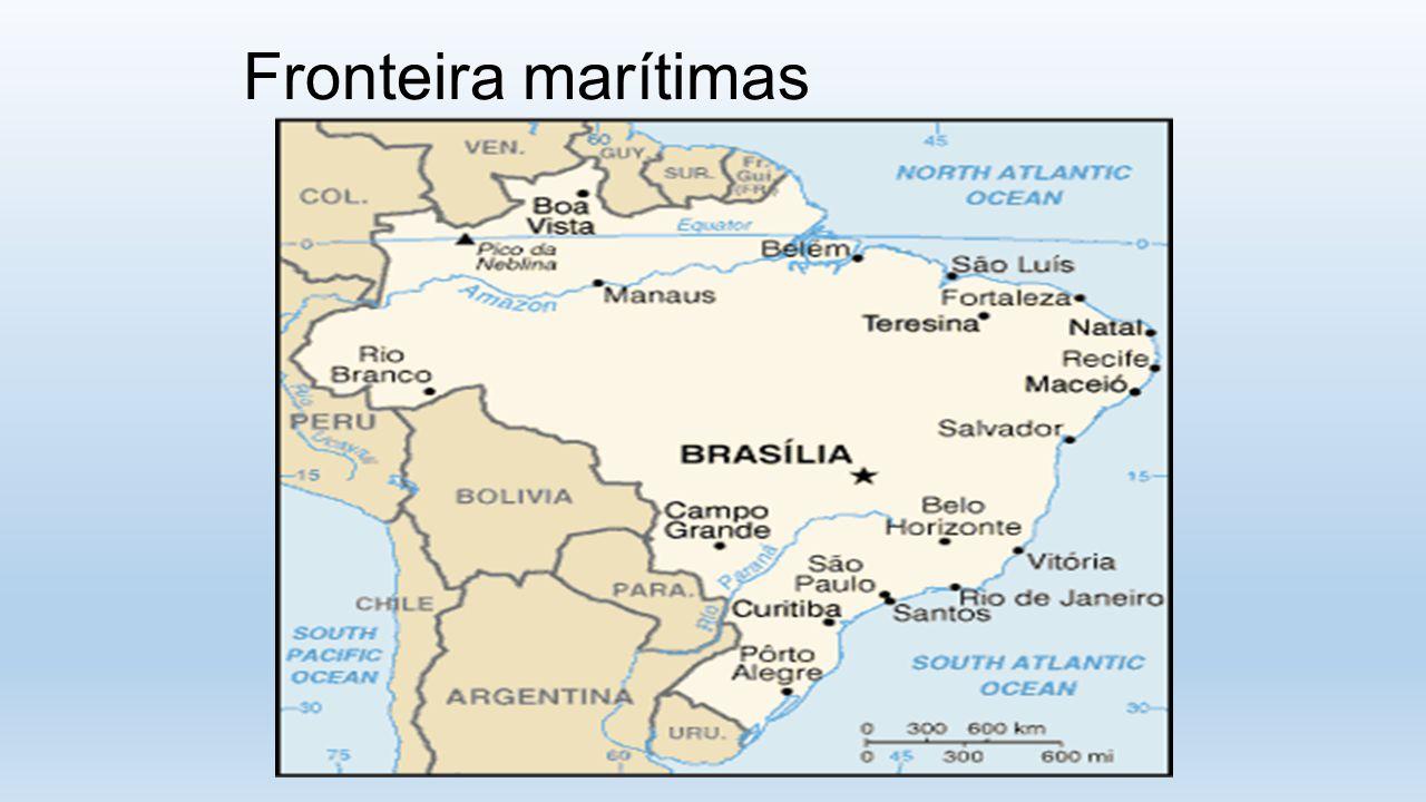 Fronteira marítimas