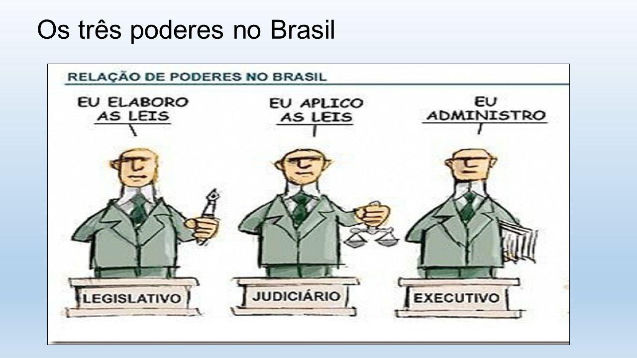 Os três poderes no Brasil