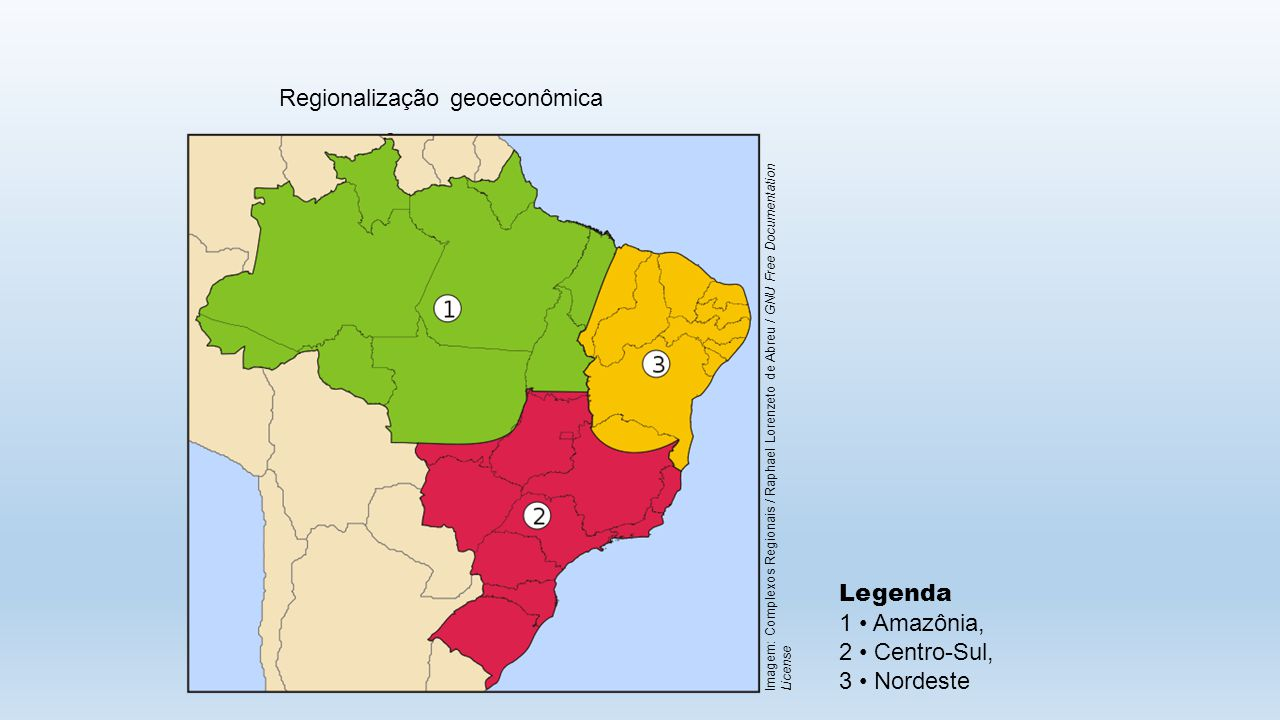 Regionalização geoeconômica