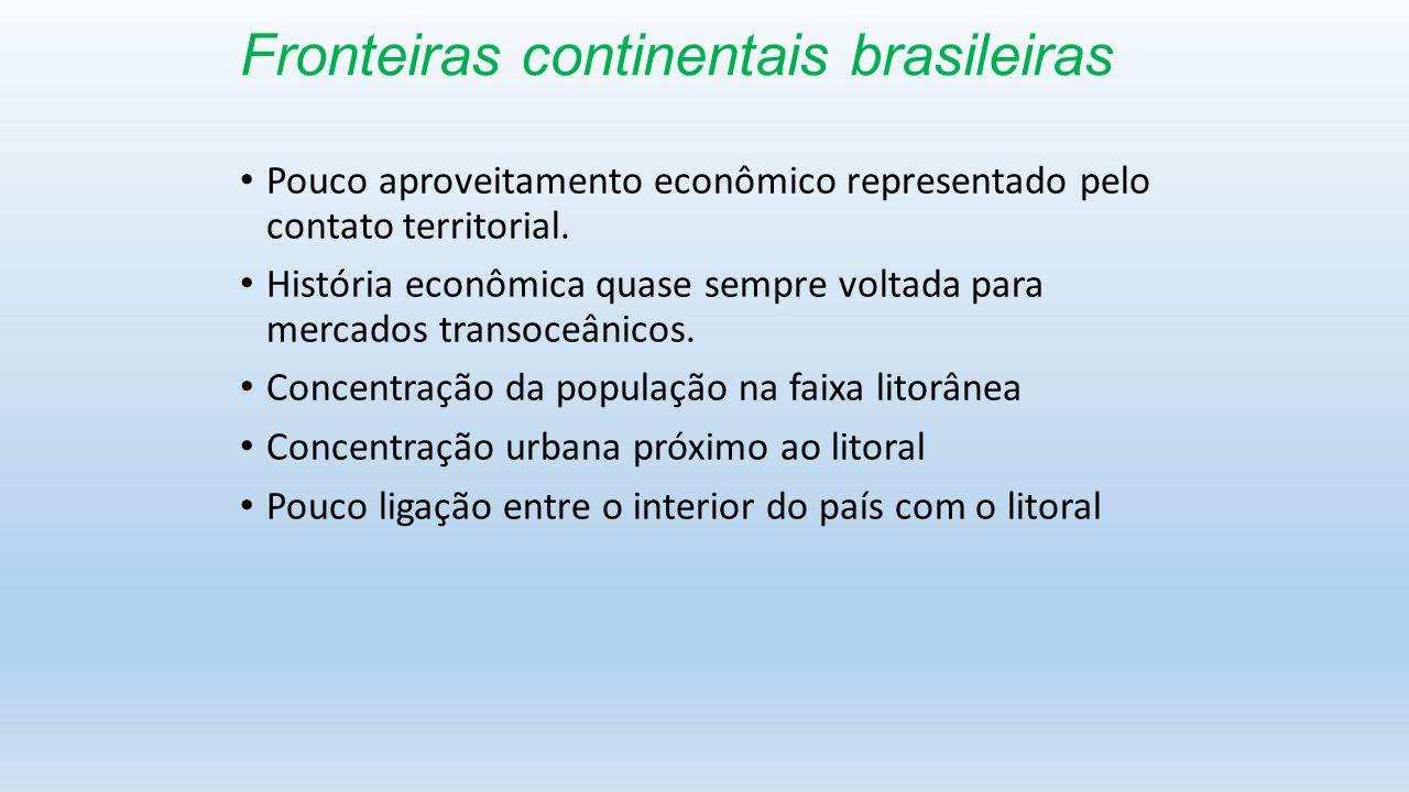 Fronteiras continentais brasileiras