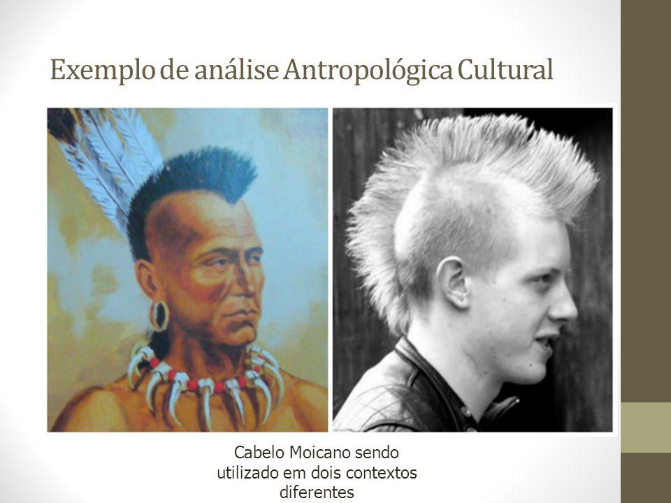 Exemplo de análise Antropológica Cultural
