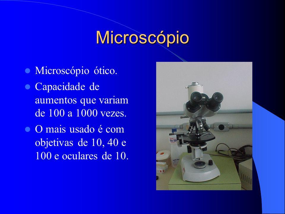 Microscópio Microscópio ótico.