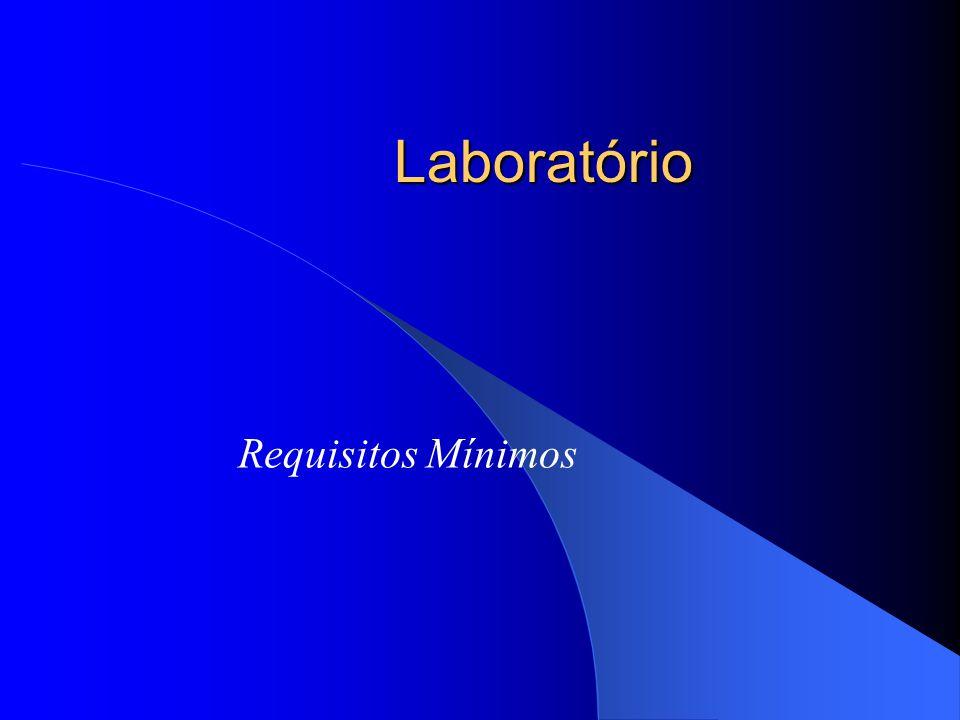 Laboratório Requisitos Mínimos