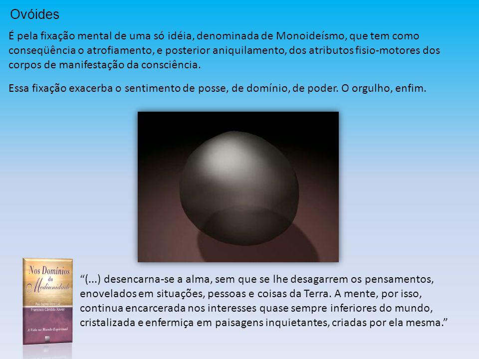 Ovóides É pela fixação mental de uma só idéia, denominada de Monoideísmo, que tem como.