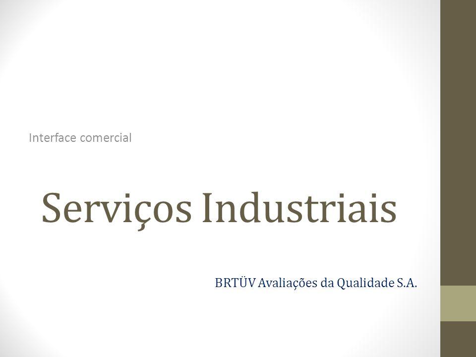 Serviços Industriais Interface comercial