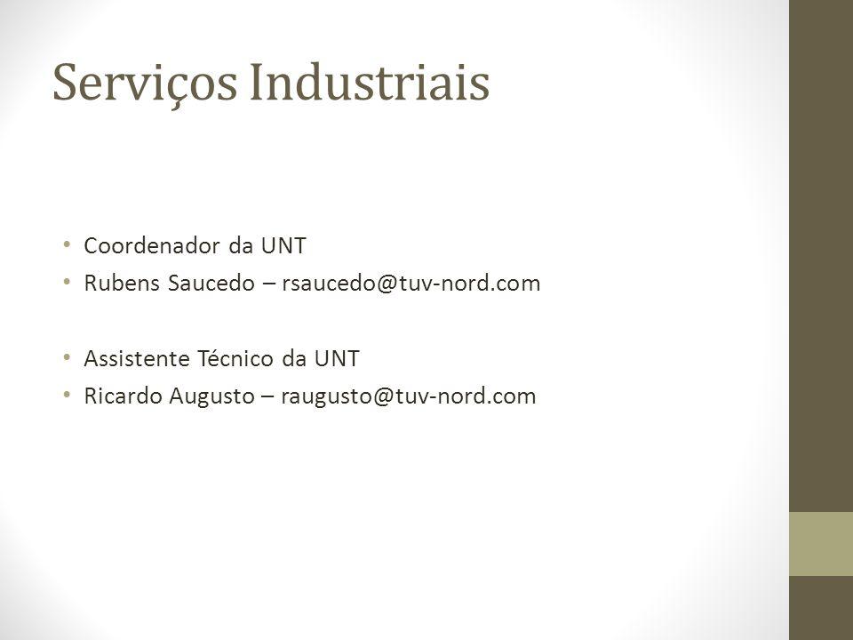 Serviços Industriais Coordenador da UNT