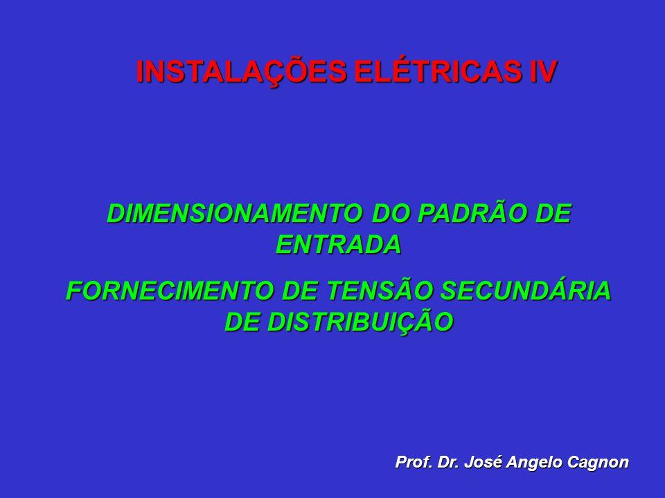 INSTALAÇÕES ELÉTRICAS IV