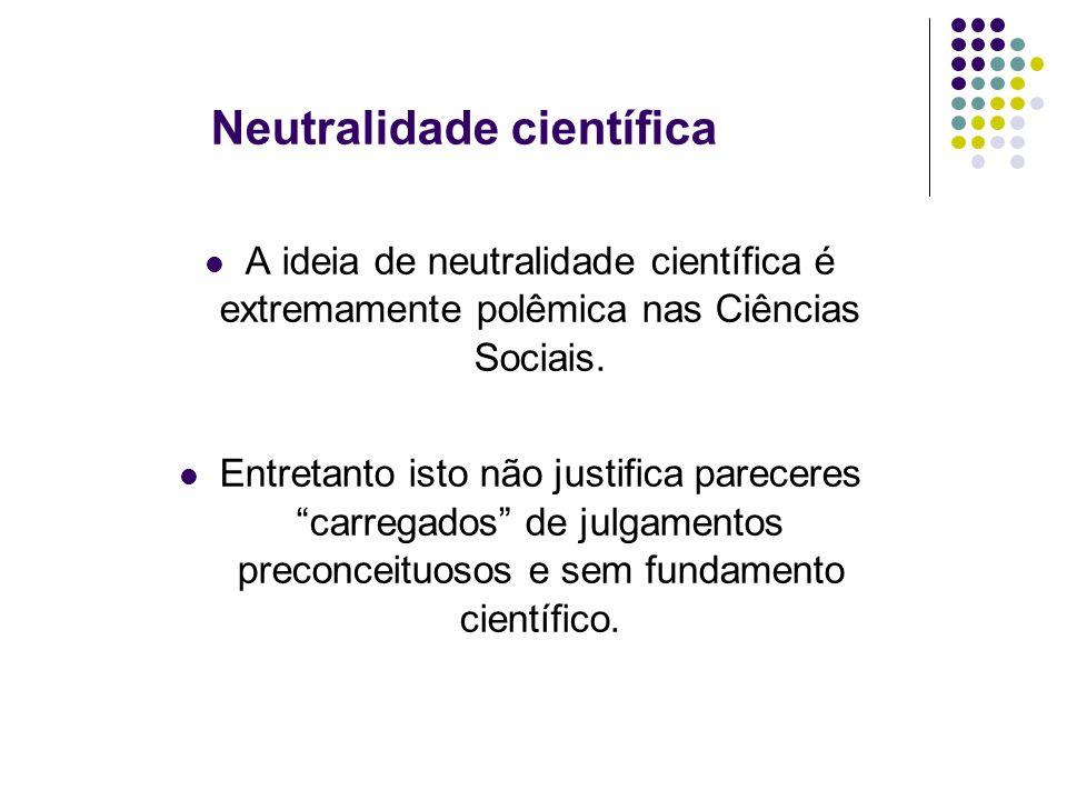 Neutralidade científica