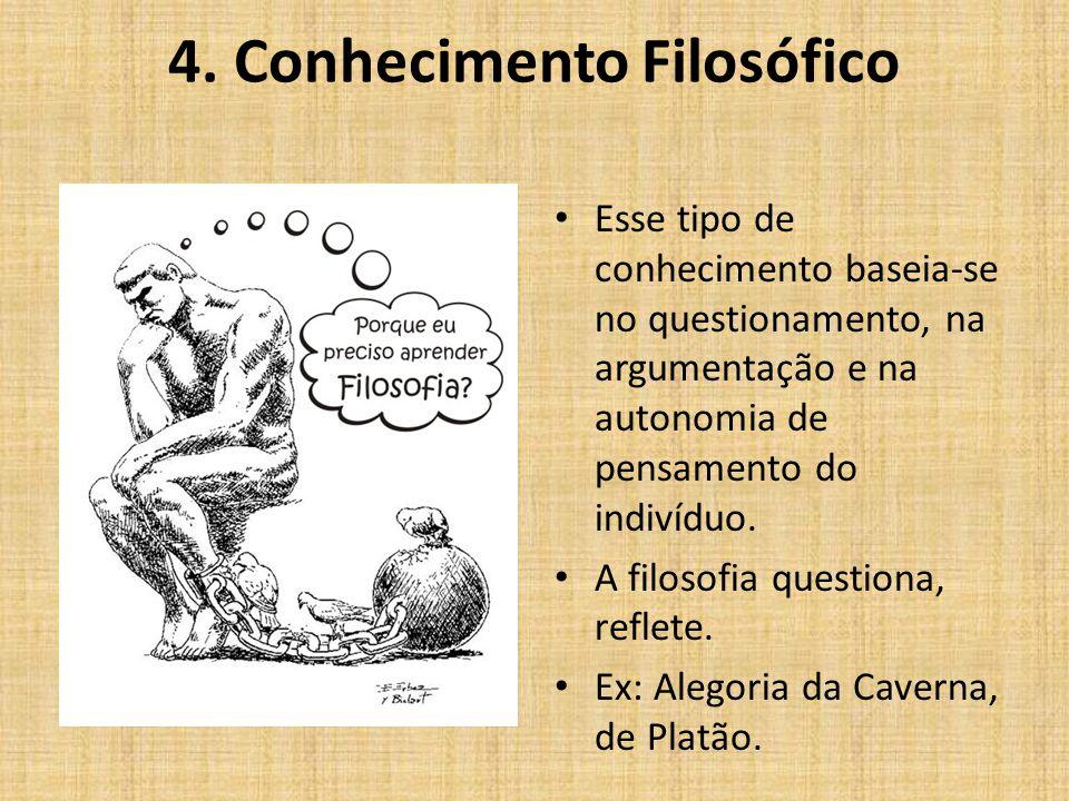 4. Conhecimento Filosófico