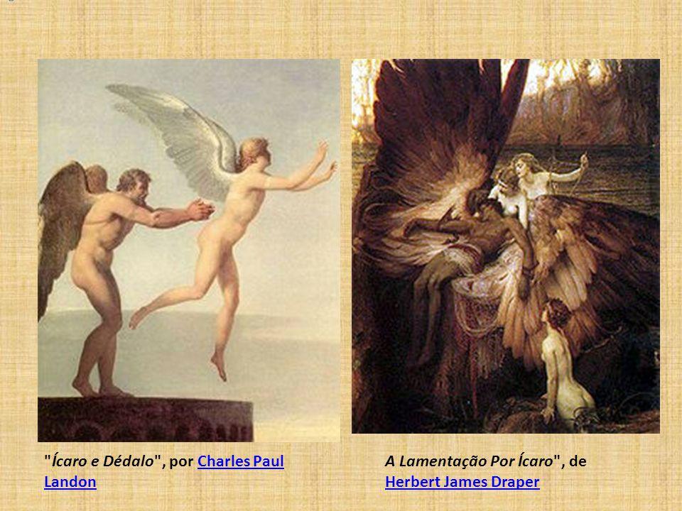 Ícaro e Dédalo , por Charles Paul Landon
