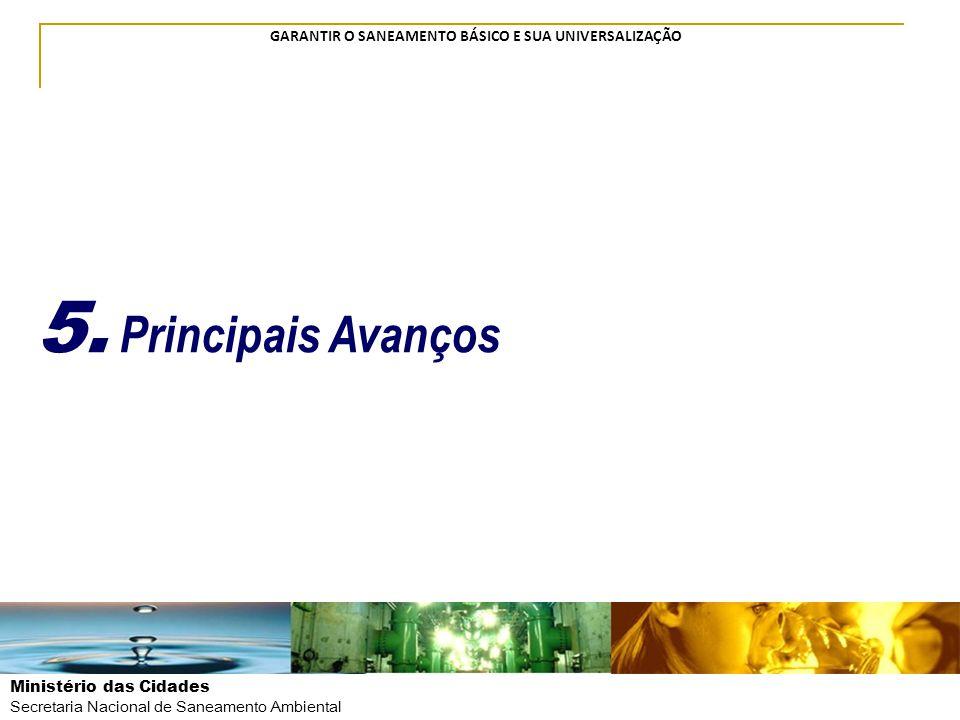 5. Principais Avanços