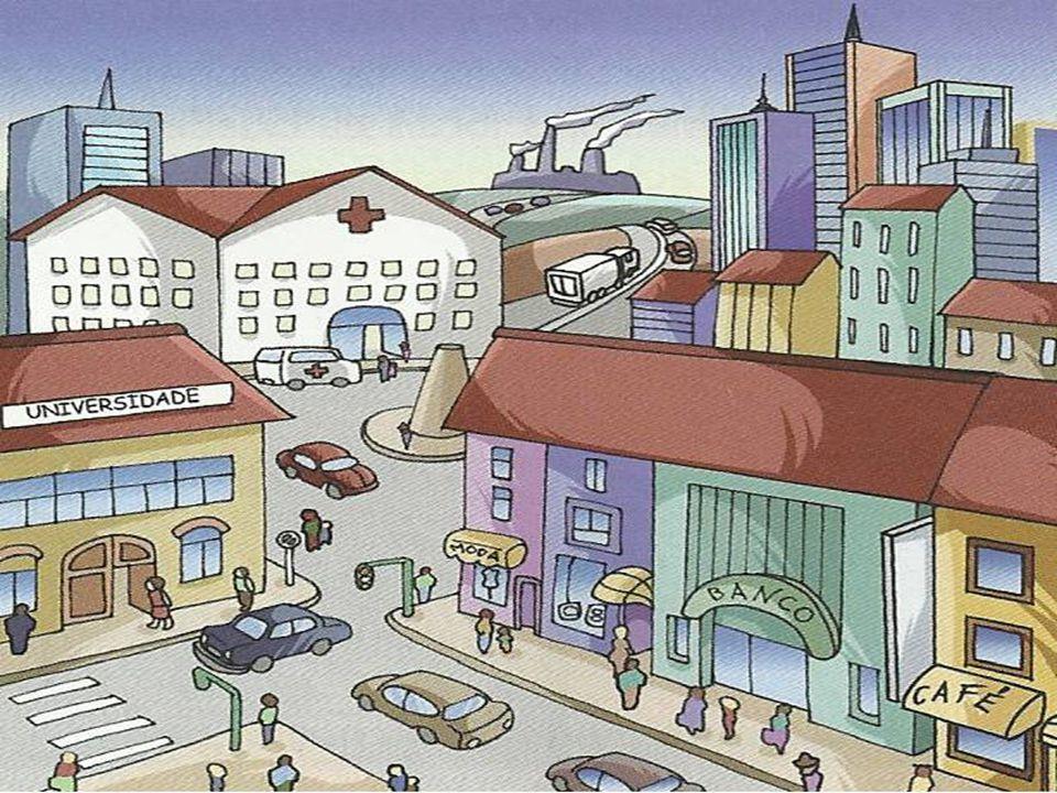 Nas cidades a generalidade da população dedica-se a actividades não agrícolas – comércio, outros serviços e indústria.