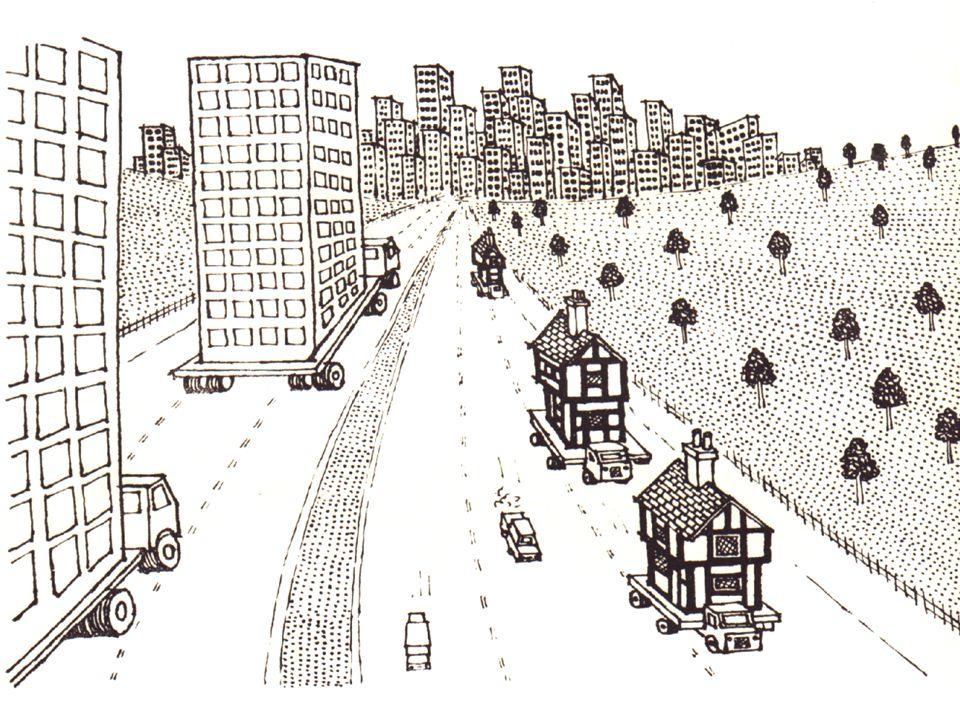 Em algumas áreas de algumas cidades, devido ao elevado preço do solo, há a tendência para a construção em altura (os célebres arranha-céus!).