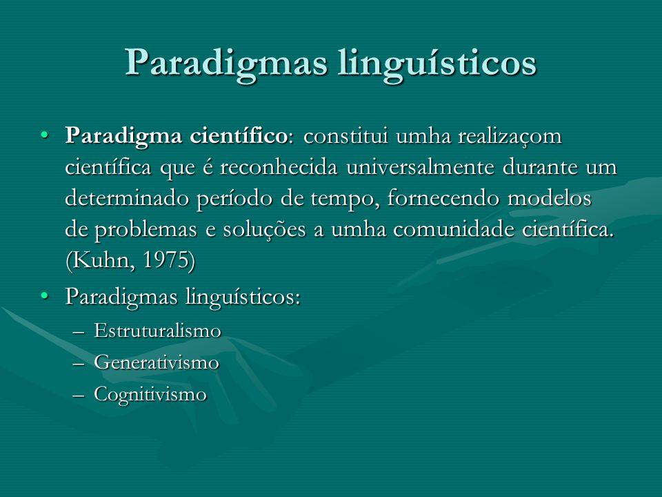 Paradigmas linguísticos