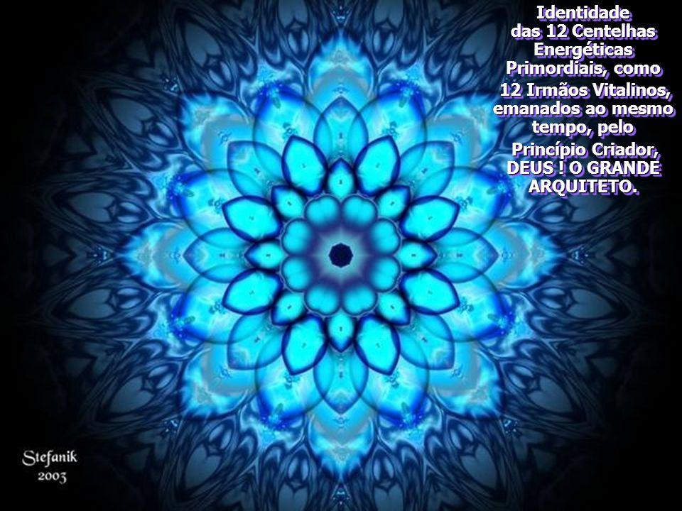 Identidade das 12 Centelhas Energéticas Primordiais, como