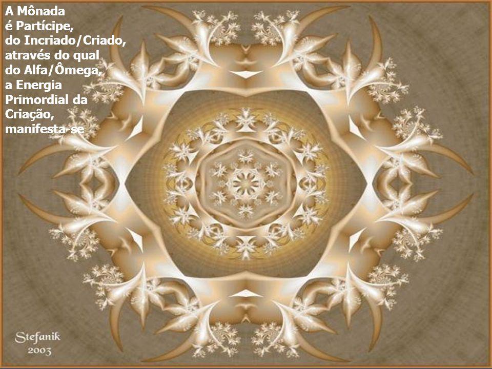 A Mônada é Partícipe, do Incriado/Criado, através do qual