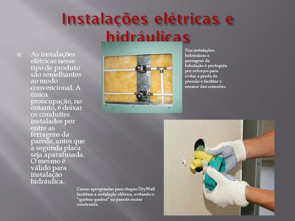 Instalações elétricas e hidráulicas