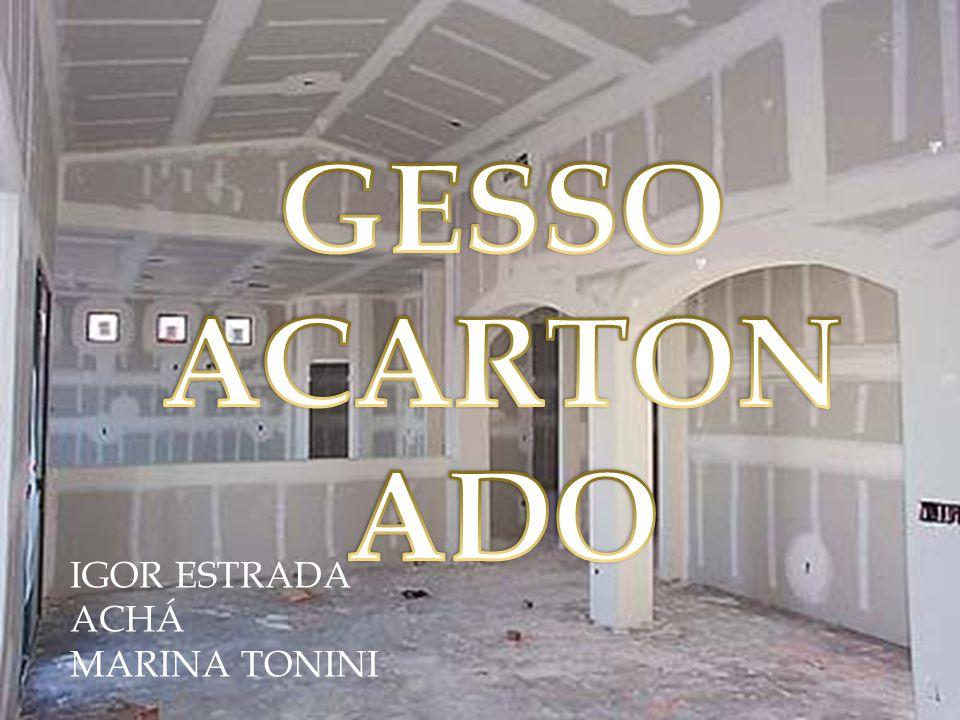 GESSO ACARTONADO IGOR ESTRADA ACHÁ MARINA TONINI