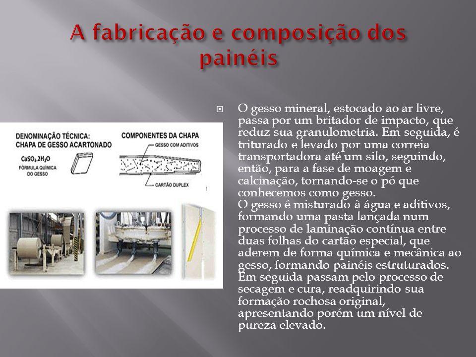 A fabricação e composição dos painéis