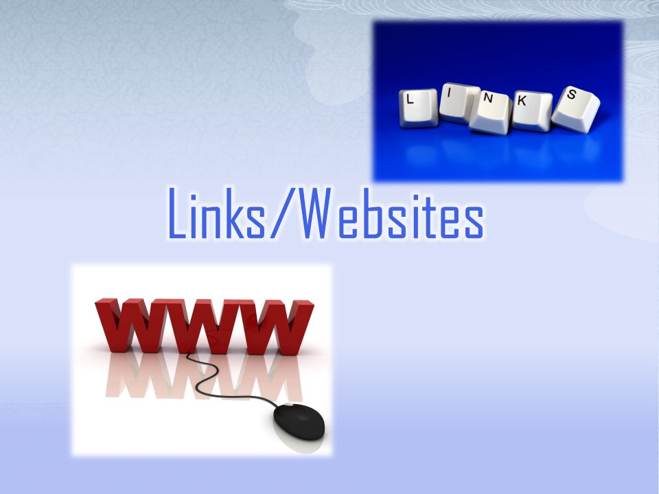 Links/Websites