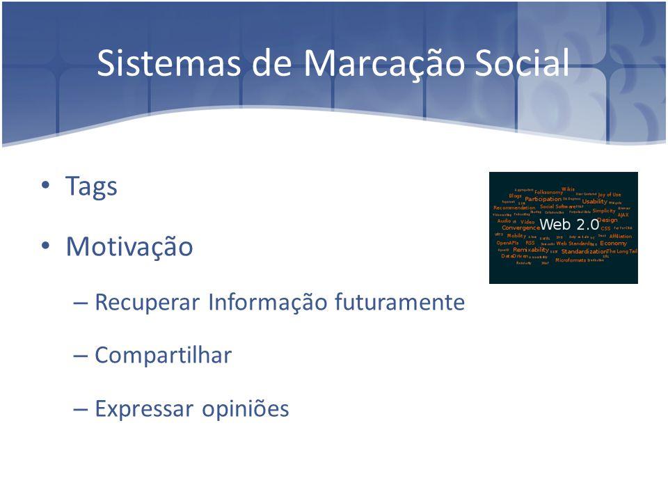 Sistemas de Marcação Social