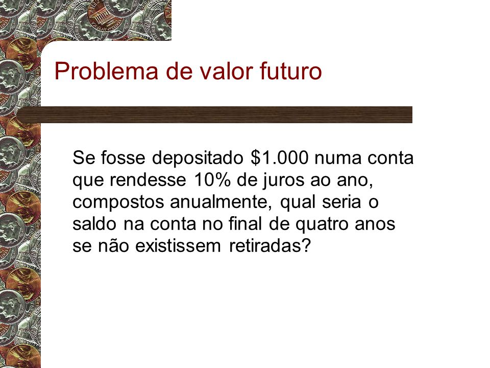 Problema de valor futuro