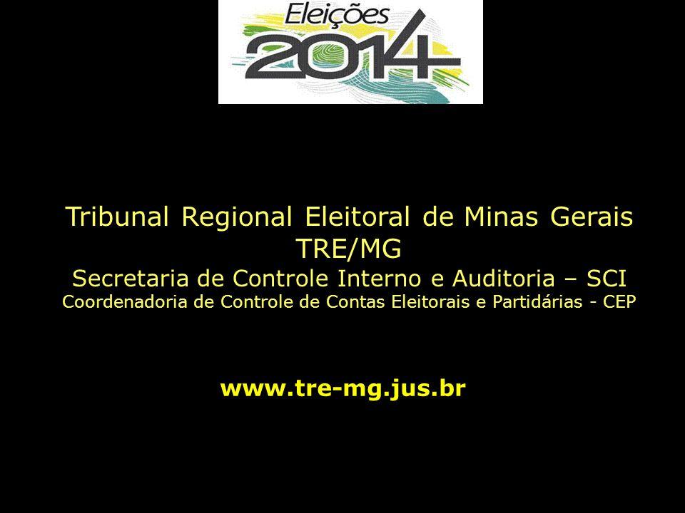 Tribunal Regional Eleitoral de Minas Gerais TRE/MG