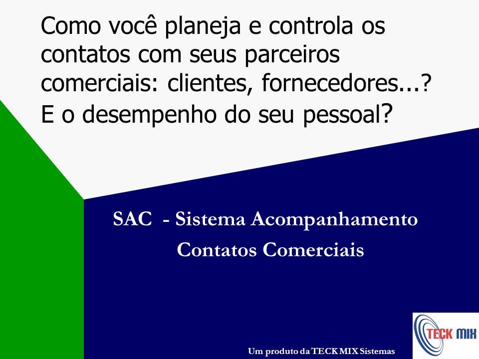 SAC - Sistema Acompanhamento Contatos Comerciais
