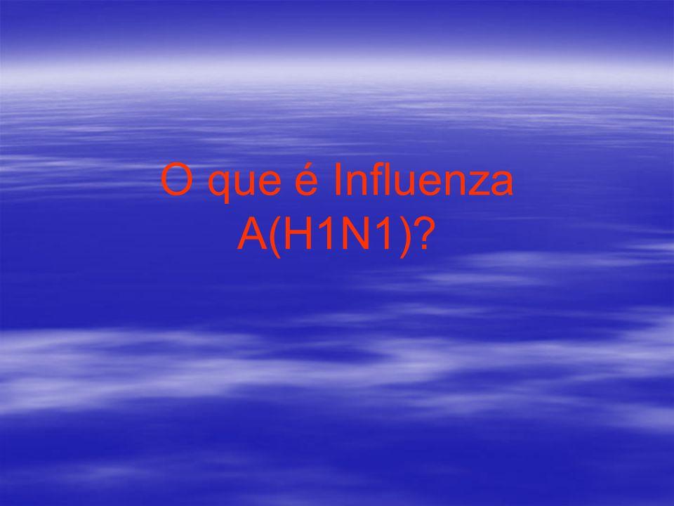 O que é Influenza A(H1N1)