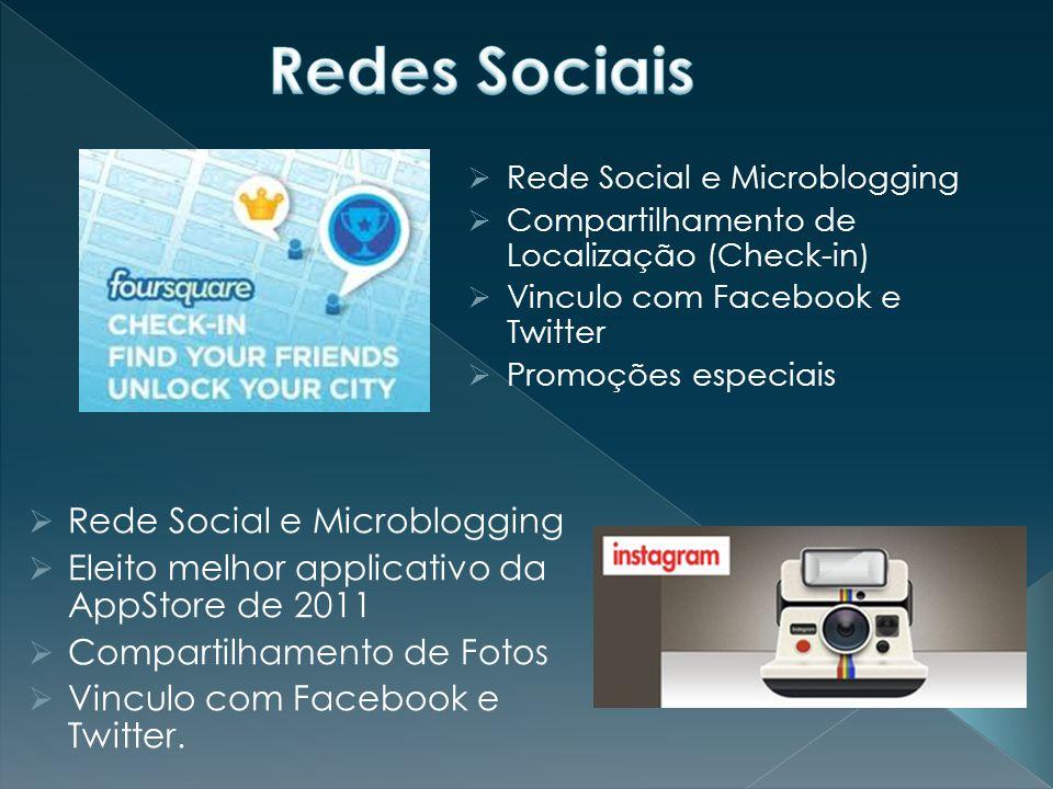 Redes Sociais Rede Social e Microblogging