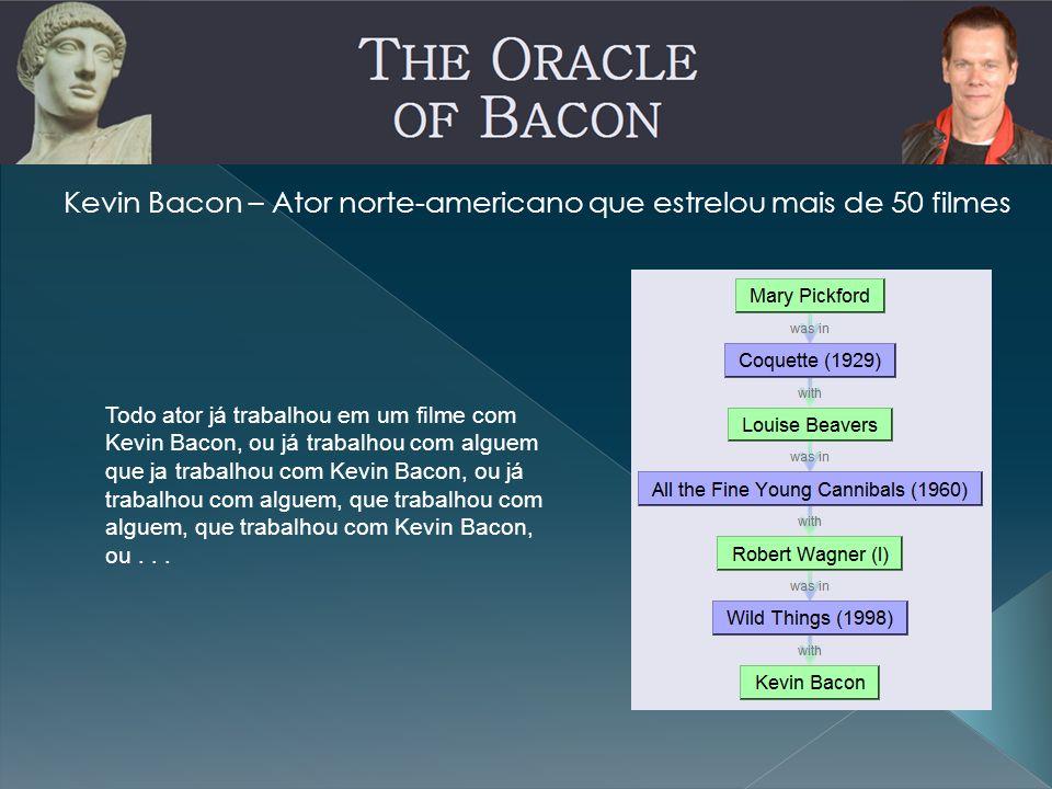Kevin Bacon – Ator norte-americano que estrelou mais de 50 filmes