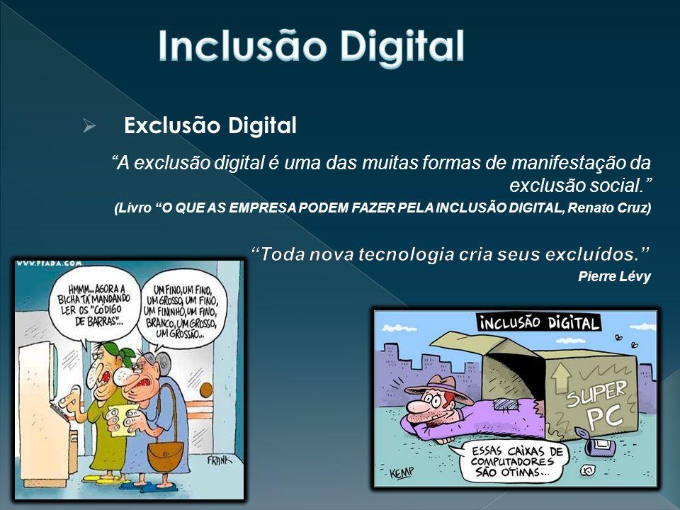 Inclusão Digital Exclusão Digital